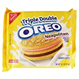 Triple Double OREO Neapolitan 13.1 OZ (371g)