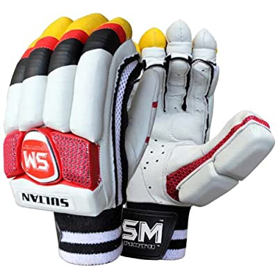 SM Sultan Batting Gloves, Men's