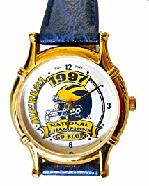 Michigan 1997 National Champions Ladies Watch Brand New