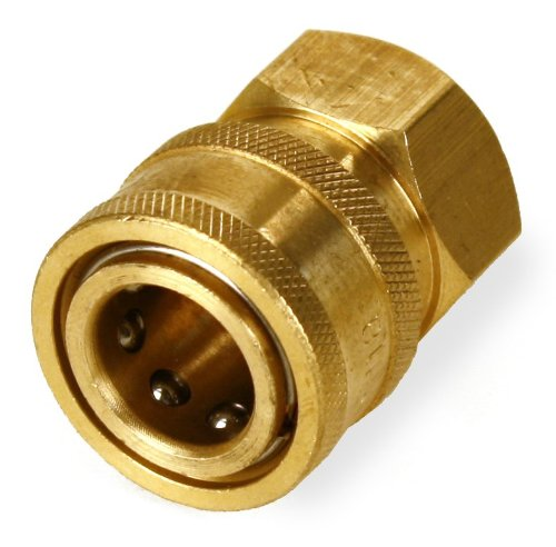 "Pressure Washer 3/8"" Npt-F Quick Coupler 4000 Psi (2) front-33026"