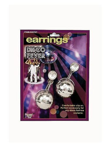 Forum Novelties Disco Ball Earrings