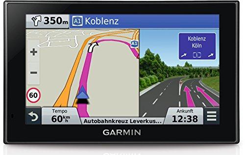 """Garmin nuvi 2699LMT-D navigatore con schermo 6"""" capacitivo in vetro, Mappa Europa Completa 45 Paesi, Infotraffico Premium DAB e Aggiornamento Mappe a Vita Incluso, Vivavoce Bluetooth Live Ready, Attivazione Vocale Colore Nero"""