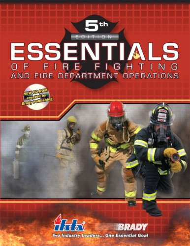 Essentials of Fire Fighting and Fire Department Operations (5th Edition) - Prentice Hall - 0135151112 - ISBN:0135151112