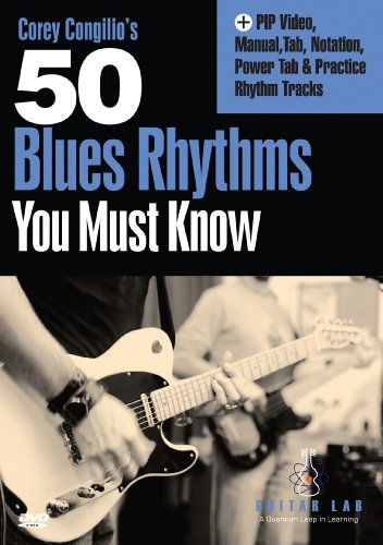 50 Blues Rhythms You Must Know [DVD] [Import]
