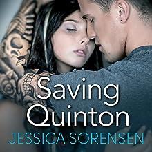 Saving Quinton: Breaking Nova, Book 2 (       UNABRIDGED) by Jessica Sorensen Narrated by Jed Drummond, Stephanie Willis