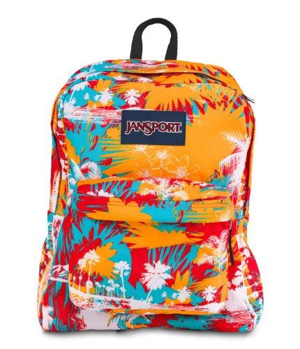 Jansport Mens Superbreak Backpack, Orange, One Size