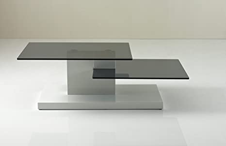 B153A - Contemporary White High Gloss Coffee Table White