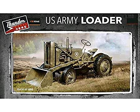 Maquette véhicule militaire : Case Loader - US ARMY