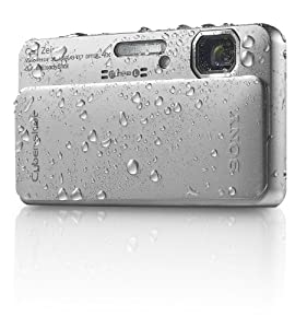 Sony Cyber-Shot DSC-TX10 16.2 MP Waterproof Digital Still Camera with Exmor R CMOS Sensor, 3D Sweep Panorama, and Full HD 1080/60i Video (Silver)