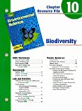 img - for Holt Environmental Science Chapter 10 Resource File: Biodiversity book / textbook / text book
