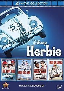 Disney 4-Movie Collection: Herbie (Love Bug / Herbie Goes Bananas / Herbie Goes To Monte Carlo / Herbie Rides Again) by Walt Disney Studios Home Entertainment