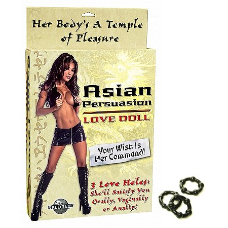 Pipedream Products Asian Fever Love Doll Adult Sex Toy Kit