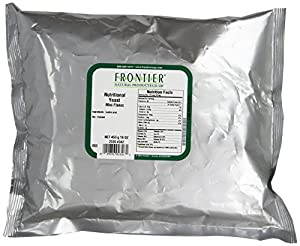 Frontier Nutritional Yeast Mini Flakes, 1 Pound