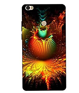 Case Cover Abstract Printed Colorful Hard Back Cover For Xiaomi Redmi MI MAX