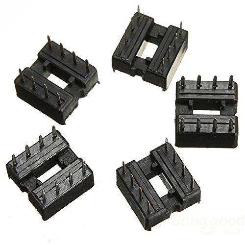 get cheap free shipping] [10 x 8 pin 2 54 mm dip ic sockets adapterfree shipping] [10 x 8 pin 2 54 mm dip ic sockets adapter ic