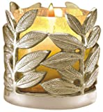Borosil Leaf Tea Light, 10cm