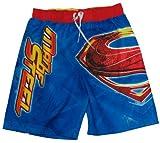 Man of Steel Superman Swim Shorts Size 6/7