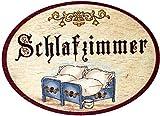Kaltner-Prsente-Geschenkidee-Trschild-Nostalgie-aus-Holz-im-Antik-Design-SCHLAFZIMMER