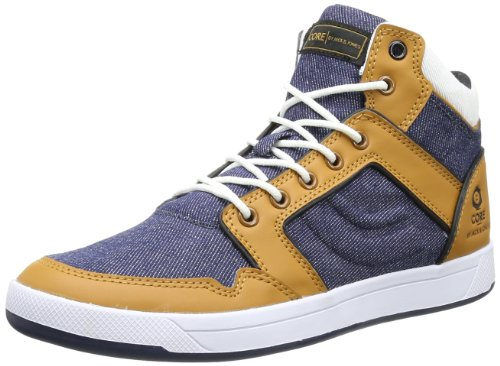 Jack & Jones Mens Jj Mark Denim Core Trainers