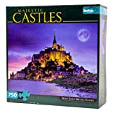 750 Piece Majestic Castle Mont Saint Mic...