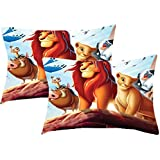 Sleep Nature's Digital Printed Pillow Covers Pack Of 2