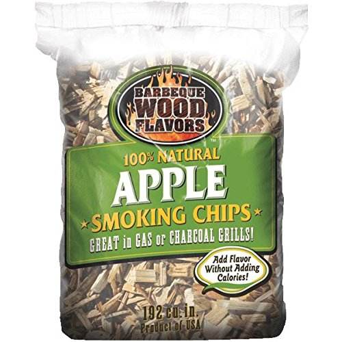 Barbeque Wood Flavors 90302 Wood Chips-2.25LB APPLE WOOD CHIPS