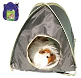 Boredom Breakers Pop up Tent Large Beige Pets Small Animals Activity 5025659193540