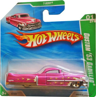 2010 Hot Wheels T-HUNT (Pink) Custom '53 Cadillac #53/214 (Short Card) (Hot Wheels T Hunt compare prices)
