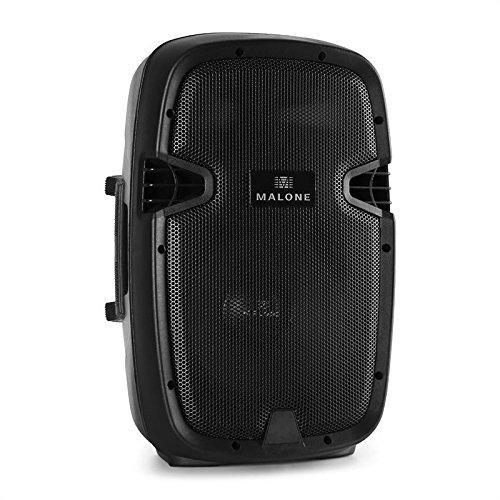 Omnitronic Flight Case rigido DJ da viaggio valigia da trasporto (50 KG max, 8/10 Unitá, rivestito in feltro)