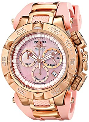 Invicta Women's 17241 Subaqua Analog Display Swiss Quartz Pink Watch