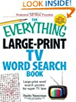 The Everything Large-Print TV Word Se...