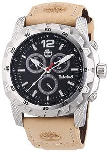 Timberland - TBL13318JS-02 - Montre Homme - Quartz Chronographe - Chronomètre - Bracelet Cuir Beige