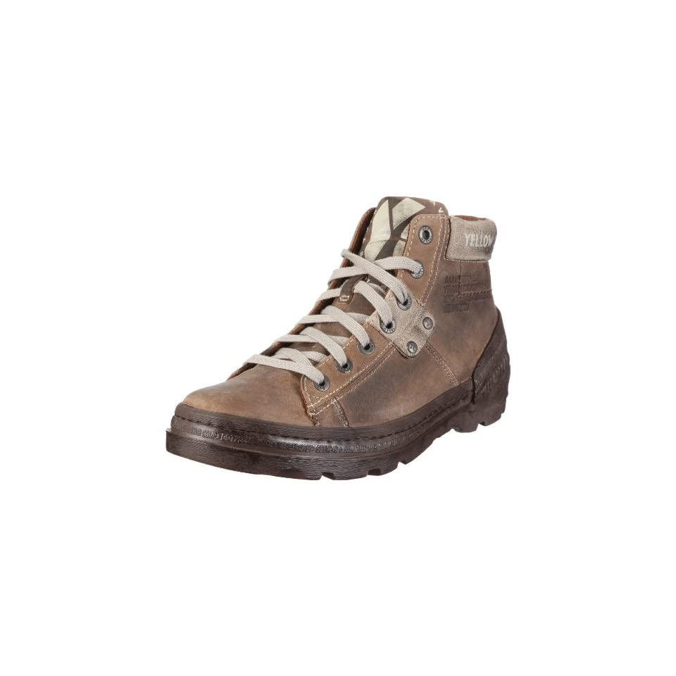 Yellow Cab Herren INDUSTRIAL M Biker Boots, Beige), 41 EU