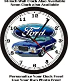1972 FORD GRAN TORINO SPORT WALL CLOCK-FREE USA SHIP!