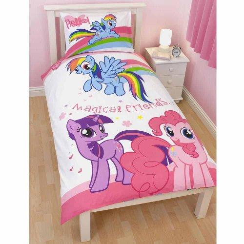 Copripiumino My Little Pony.Seguiprezzi It Completo Letto Singolo Lenzuola Copripiumino My