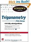 Schaum's Outline of Trigonometry: 618...