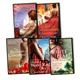 Kate Furnivall Kate Furnivall Related Books 5 Books Collection Pack Set RRP: £40.95 (The Concubine's Secret, The Russian Concubine, The White Pearl, The Jewel of St Petersburg, UNDER A BLOOD RED SKY)