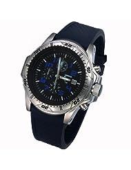 Armourlite ShatterProof High Impact glass Police Blue Edition H3 tritium 100m watch