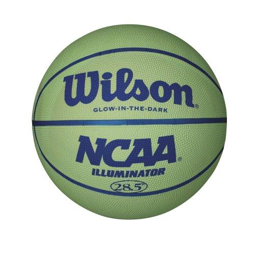"""Wilson NCAA Illuminator, Glow in the Dark Basketball, 28.5"""""""