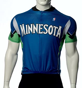 NBA Minnesota Timberwolves Ladies Cycling Jersey by VOmax