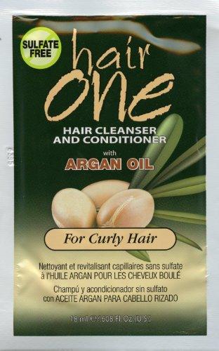 自宅で簡単 ワンステップヘッドスパ Hair One アルガン 18ml