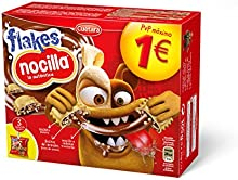 Cuetara Galletas Flakes Nocilla - Pack de 3 x 35 g - Total: 105 g