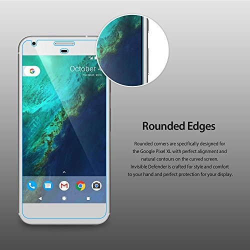 Google-Pixel-XL-Screen-Protector-Invisible-Defender-MAX-CLEARNESSCase-Compatible-Perfect-Touch-Precision-High-Definition-HD-Protective-Film-4-Pack-for-Google-Pixel-XL-2016