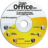 Open Office Paket CD/DVD kompatibel zu Word & Excel® -Für Windows 10 ® Windows 7®, 8® ,XP® & Vista®