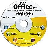 Software - Open Office Paket CD/DVD kompatibel zu Word & Excel� -F�r Windows 10 � Windows 7�, 8� ,XP� & Vista�