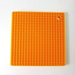 Fashion Kitchen Table Pad Tools Silicone Pot Holder Trivet Mat Heat Resistant