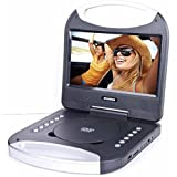 Black , 10-Inch : Sylvania 10-Inch Portable DVD Player With Integrated Handle And USB/SD Card Reader, Black