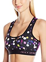 Juicy Couture Sujetador Deportivo (Multicolor)