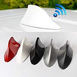 Universal Functional Car Radio Shark Fin Antenna-White