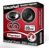 Vauxhall Vivaro Front Door Speakers Pioneer Car Speakers + Adapter Pods 240W